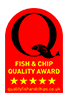 Serene Fish and Chips winners of Fish & Chip quality award